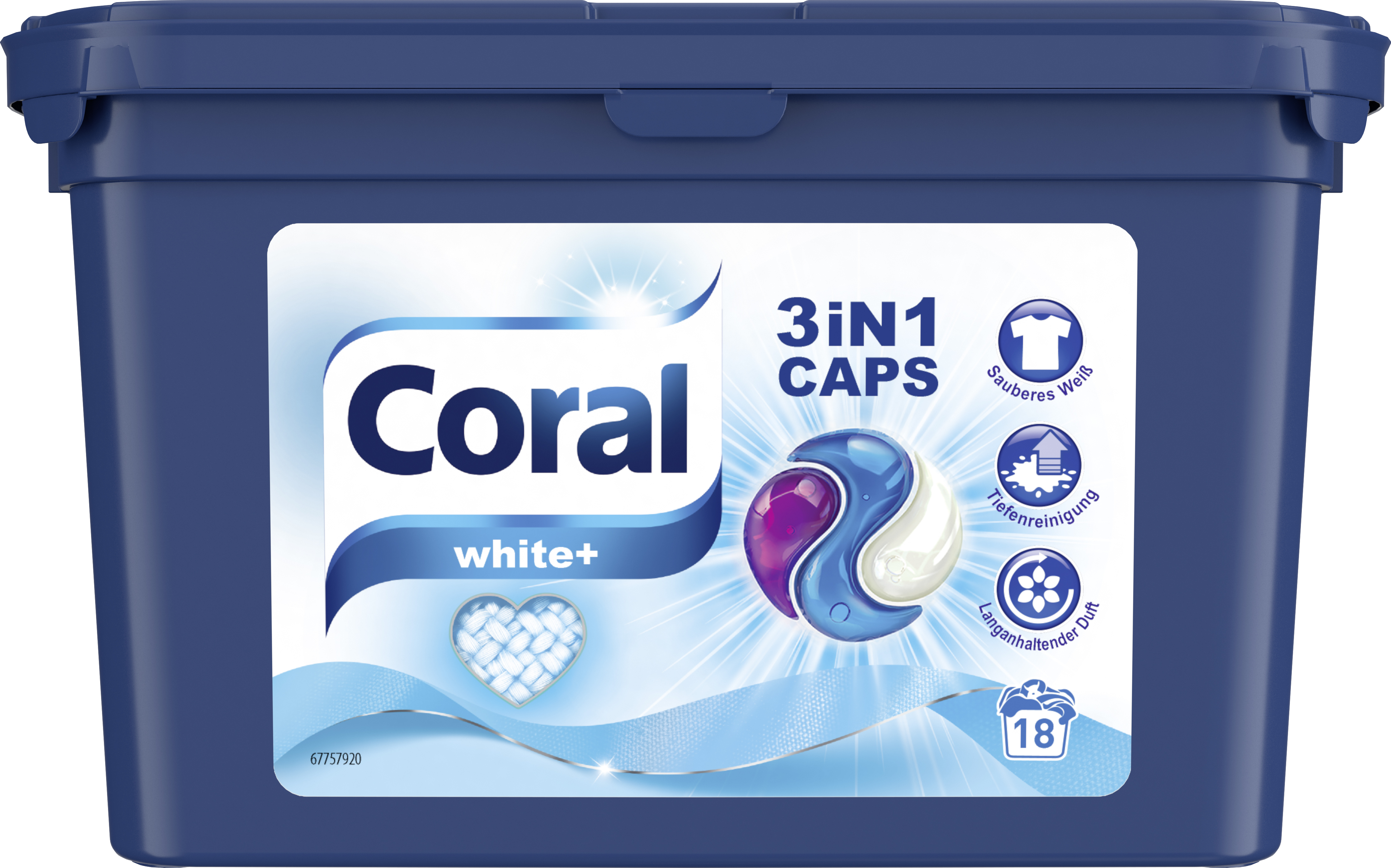 Coral Cap 3in1 Wh 18WL 3x ml PK