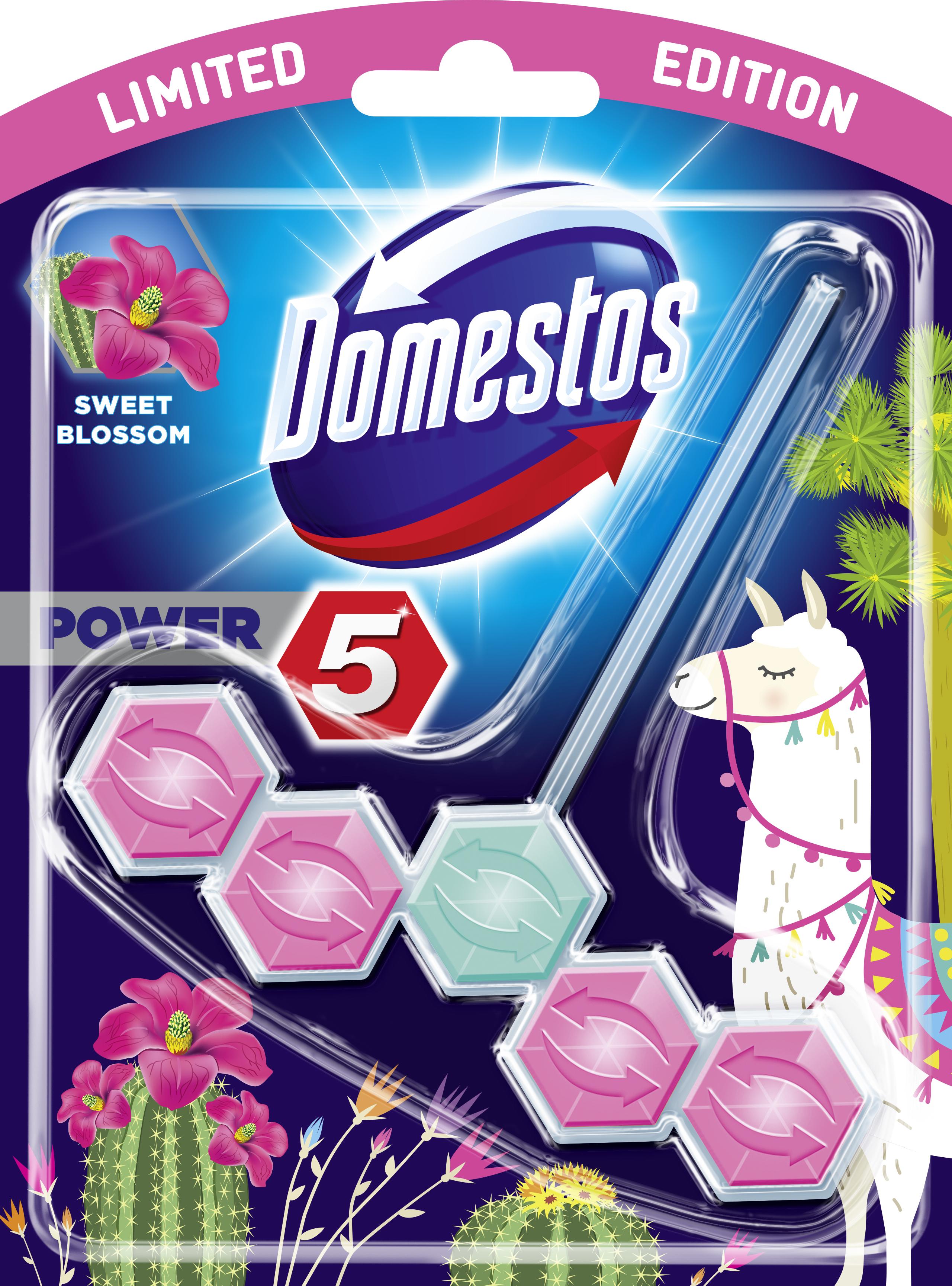 Domestos WCSt LE Bloss 9x 55g PK